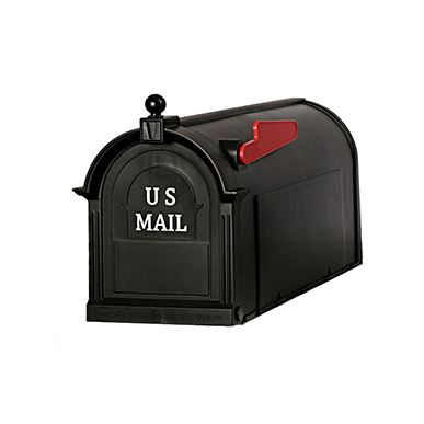The Ambrose - Black - by Postal Pro Mailboxes