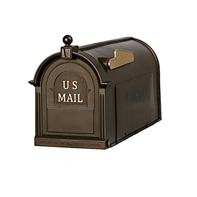 The Ambrose - Bronze - by Postal Pro Mailboxes